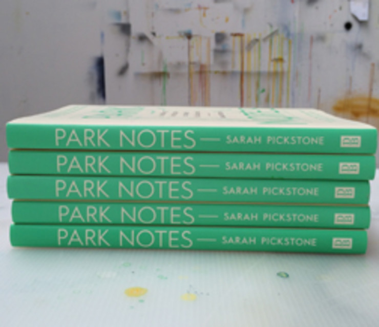 Park Notes, Sarah Pickstone - July 3rd 2014 - published by Daunt Books