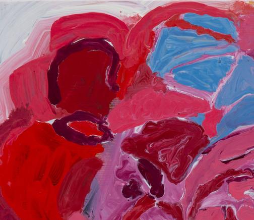 Shakespeare's Rose 2019 Oil on panel 40 x 30 cms